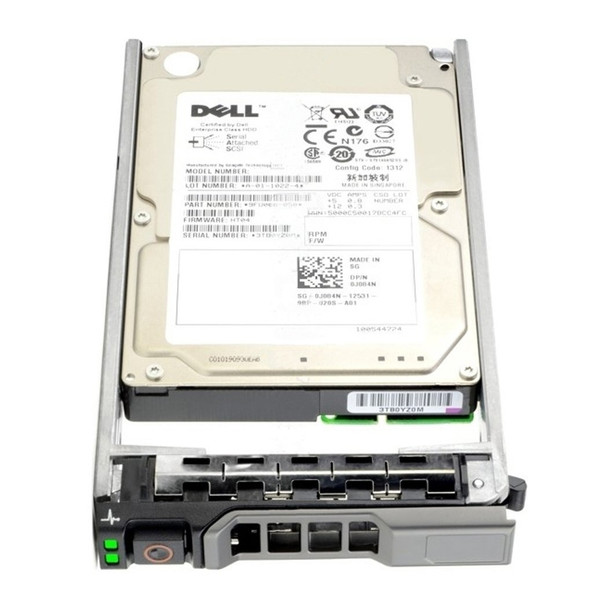 Dell R72NV 600GB 10000RPM 2.5inch SFF 32 MB Buffer SAS-6Gbps Hot-Swap Internal Hard Drive for PowerEdge and PowerVault Servers (New Bulk Pack with 1 Year Warranty)