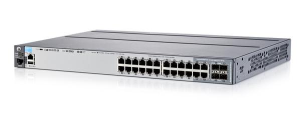 HPE Aruba J9726A 2920-24G-PoE+ 24Port 10GBASE-T 20 x 10/100/1000 + 4 x combo Gigabit SFP Gigabit Ethernet Managed Switch (Grade A with 90 Days Warranty)