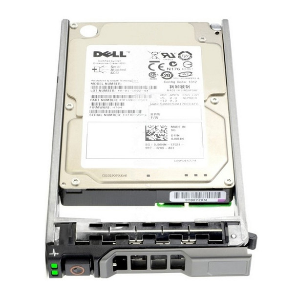 Dell H8DVC 300GB 15000RPM 2.5inch Small Form Factor(SFF) SAS-6Gbps 64 MB Buffer Hot-Swap Hard Drive for PowerEdge and PowerVault Server
