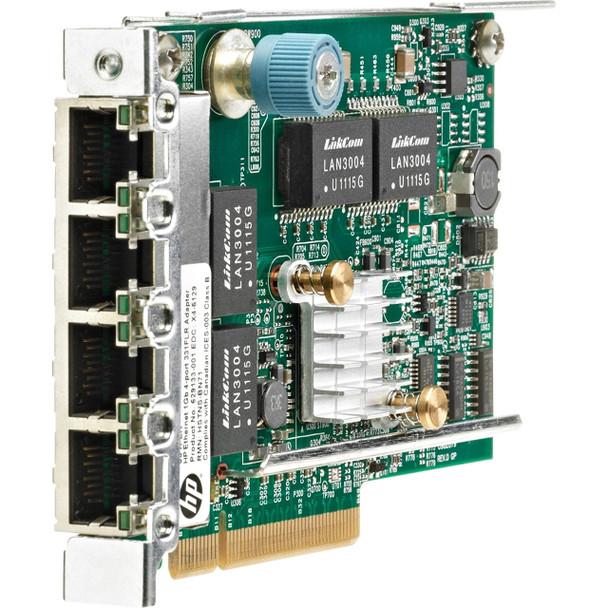HPE 629135-B22 1GB Quad Port 4 x Ethernet 1000 - RJ-45 PCI Express - 2.0 331FLR Ethernet Network Adapter