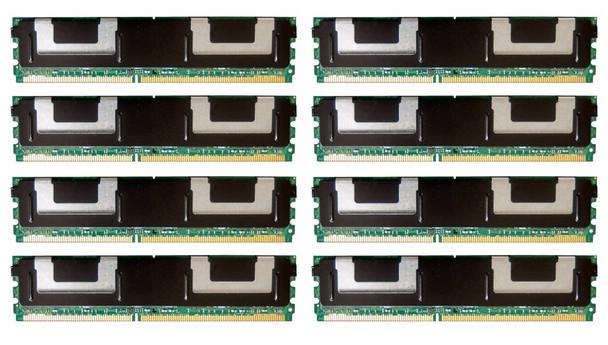HPE 495604-B21 64GB (8x8GB) Dual Rank x4 667MHz ECC Registered CL5 (CAS-5-5-5) PC2-5300 Fully Buffered 240Pin DIMM DDR2 SDRAM Memory Kit for ProLiant Gen1 and Gen5 Servers