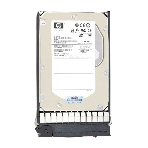 HPE 411089-B22 300GB 15000RPM 3.5inch LFF Wide Ultra-320 SCSI 80-Pin Hard Drive for ProLiant Gen1 to Gen4 Servers (Refurbished with 90 Days Warranty)