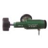Compact Brass-Core Oxygen Regulator 0-25 Lpm - USA made