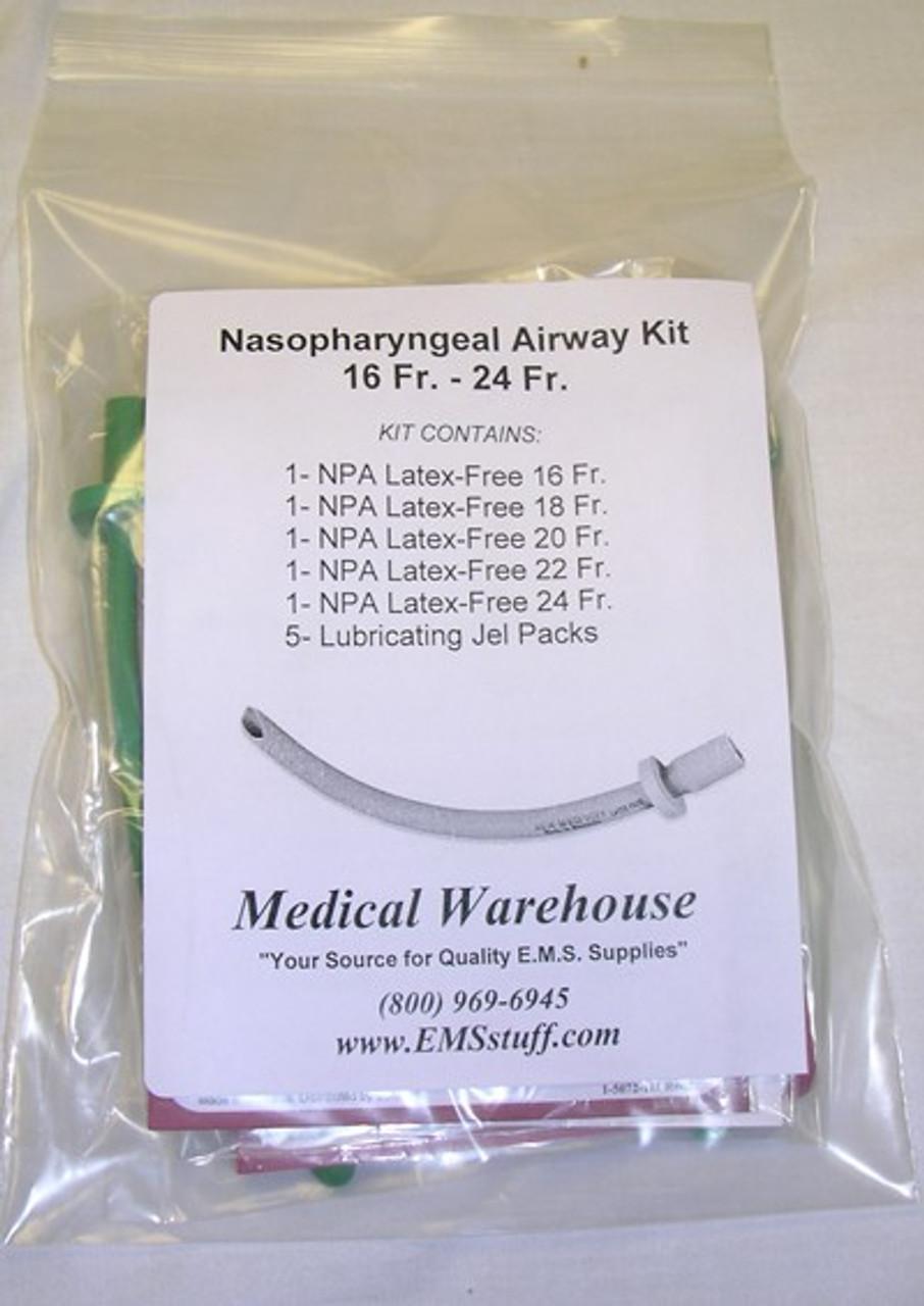 Nasal Airways - Individual and Multi-Size Kits