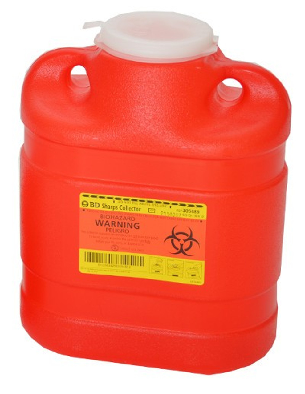 6.9 Quart Sharps Container #305489 by BD