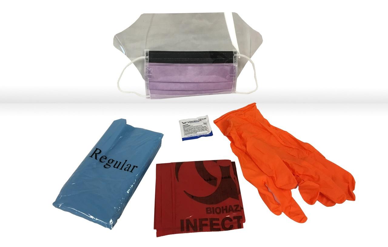 Hi-Risk Kit w/Red Biohazard Bag