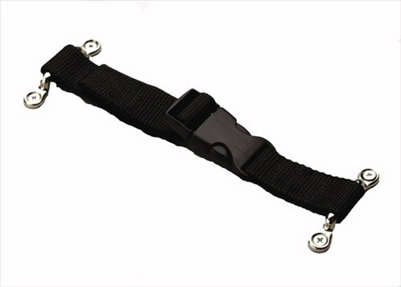 1 Inch x 36 Inch Poly Equipment Securing Strap with Mounting Hardware