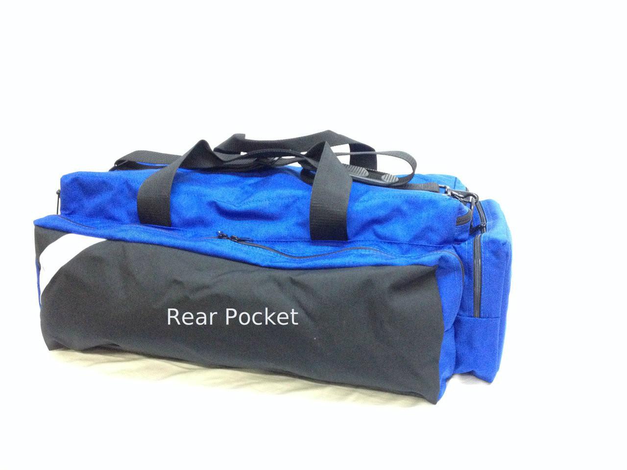 Dual Front Pocket Airpack - Rear Pocket