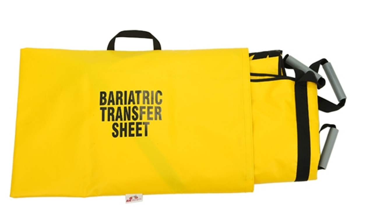 Bariatric Transfer Sheet with Backboard Insert