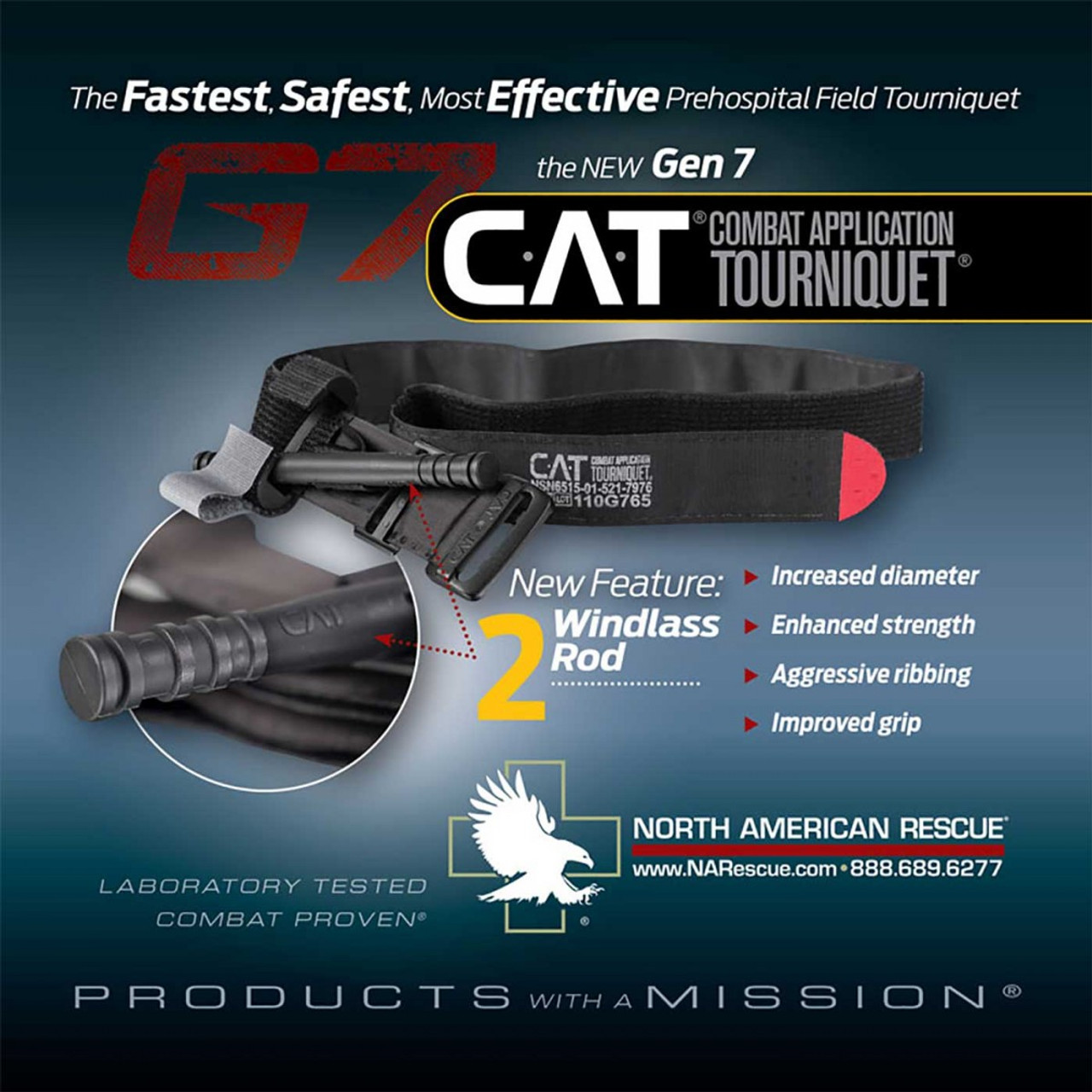 The Combat Application Tourniquet ® (C-A-T) GEN 7