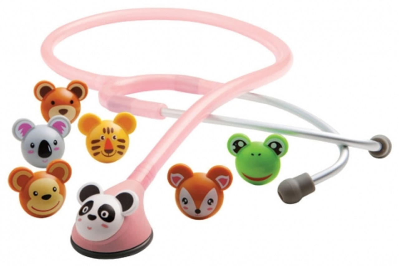Adscope™ 618 Pediatric ADimal Stethoscope - Pink