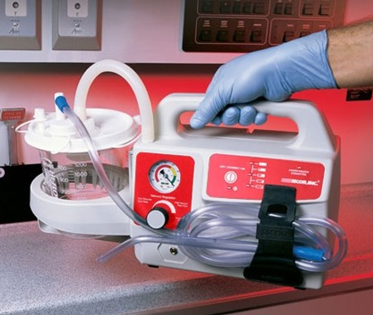 SSCOR VX-2 Portable Suction Unit with Charging  Bracket