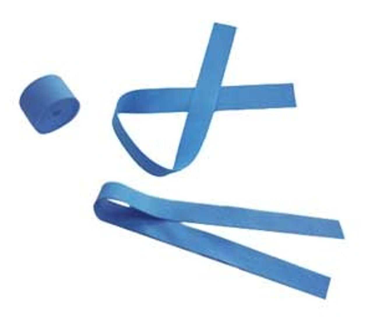 Tourniquet, Blue Latex-Free - 25 per Pack