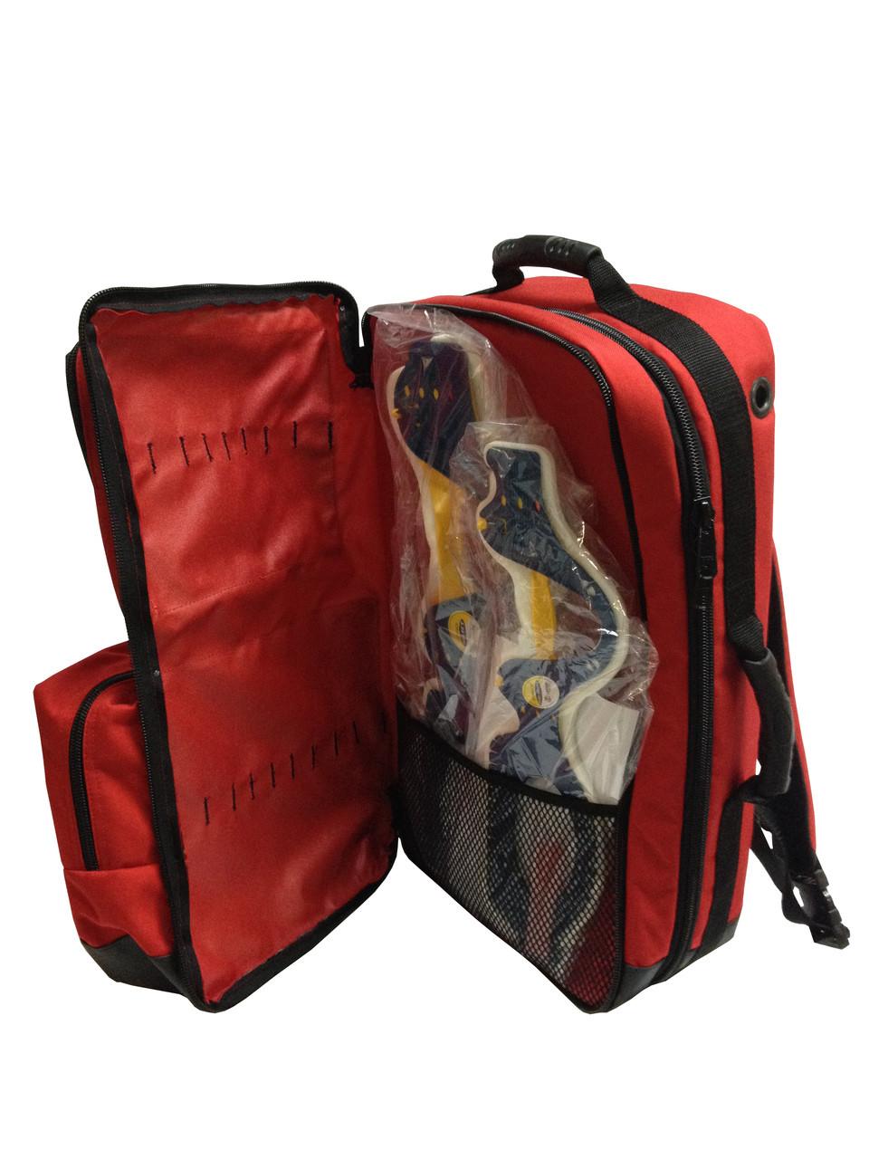 Stocked - O2 / Trauma / AED Backpack