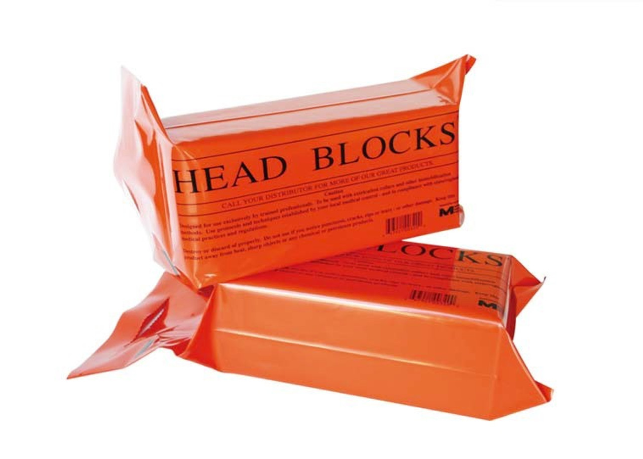 Foam Orange Head Blocks