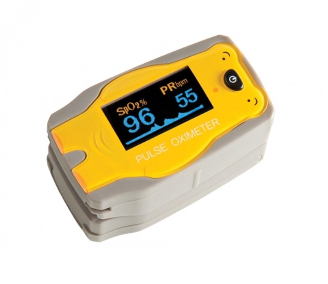 Pediatric ADimals Fingertip Pulse Oximeter