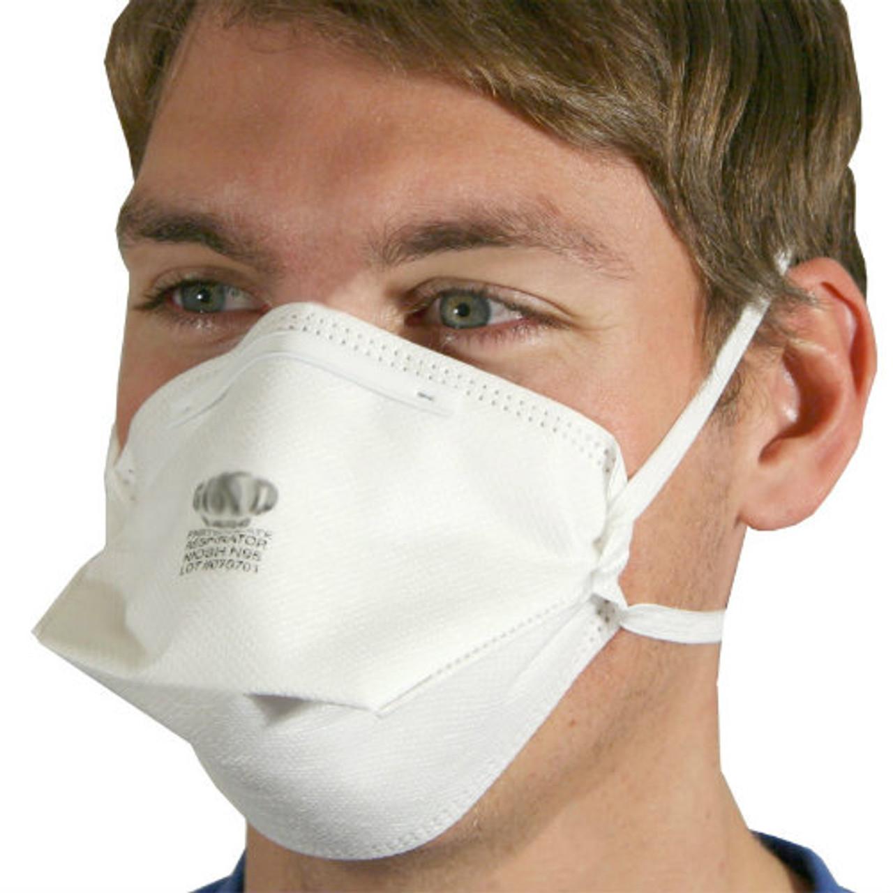 20 Fold-flat Respirator Particulate Box Per - Masks N95