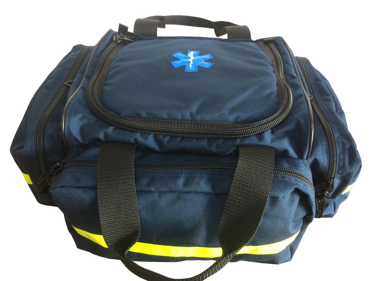 Stocked - Tri-Pocket Responder Bag - Navy or Orange