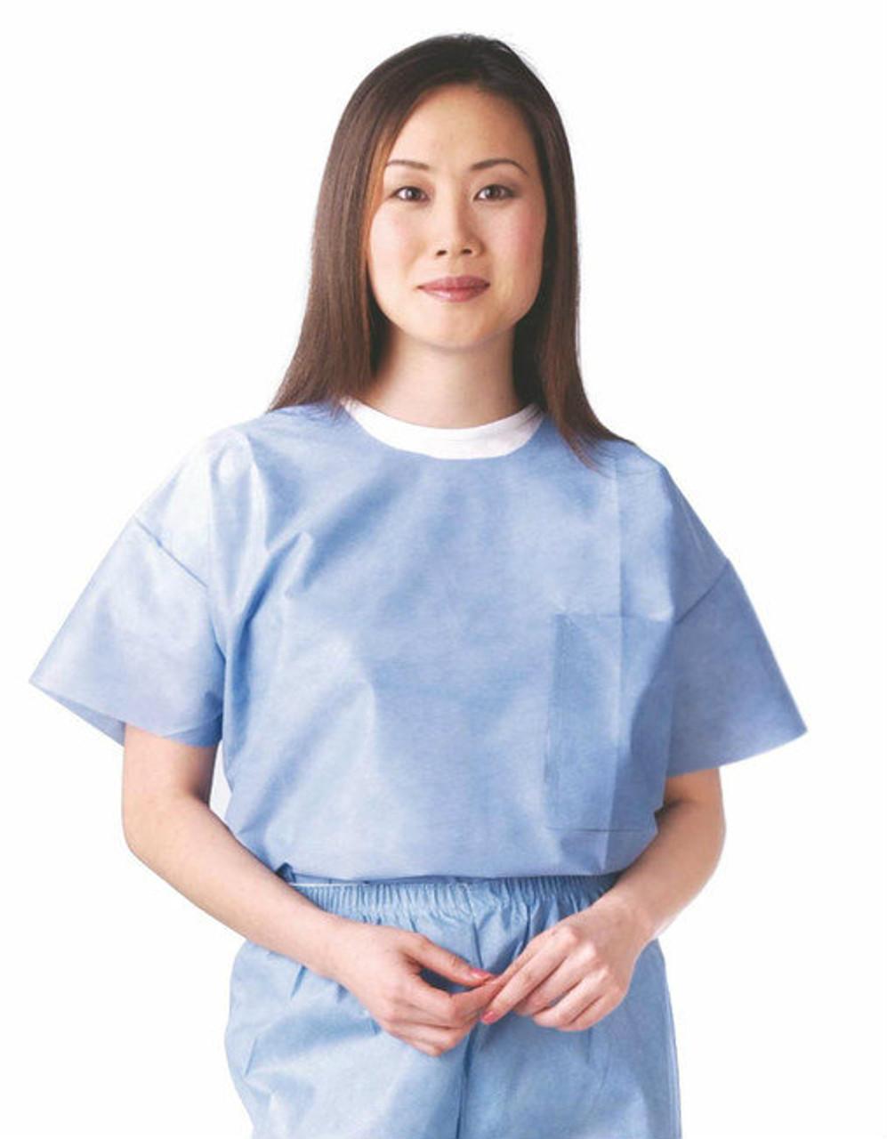 Scrub Shirts, Disposable - All Sizes