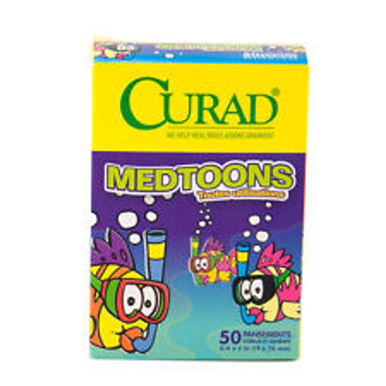 Cartoon Bandaids - 50 per Box