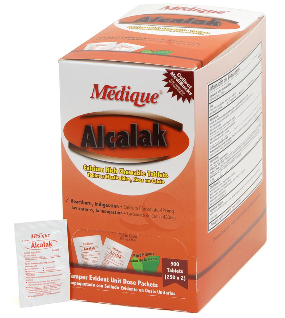 Alcalak Antacid Tablets - Unit Dose