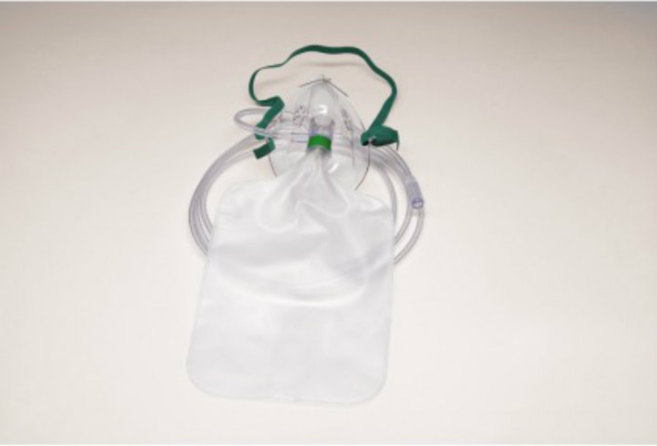 Partial Rebreather Mask, Adult