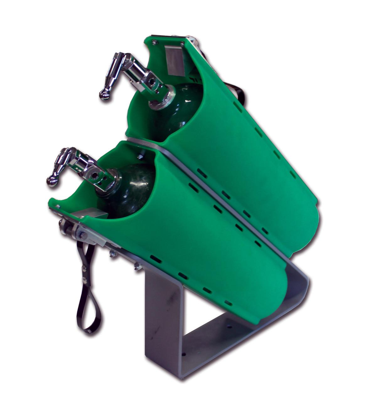 Twin Slide-Out 'D' Cylinder Bracket