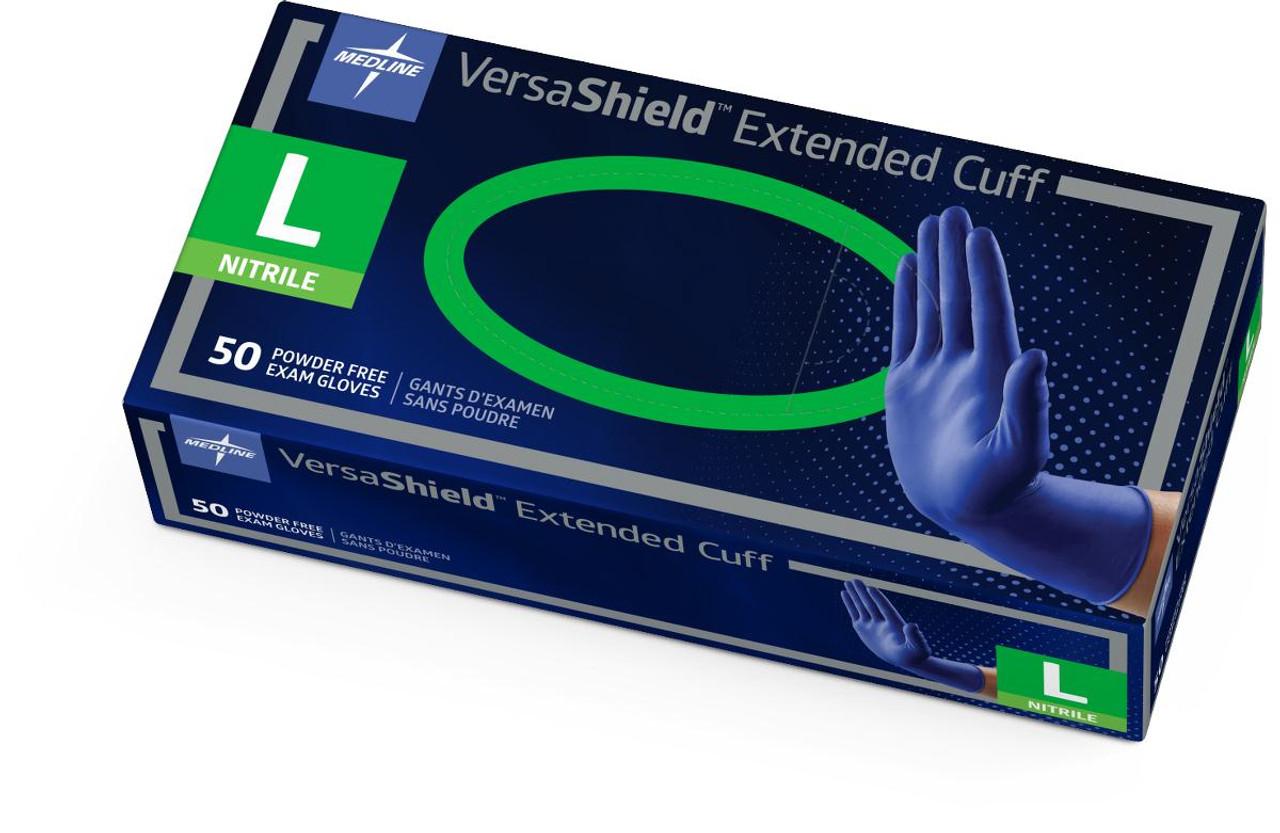 100//BOX LIFESTAR EC Nitrile Extended Cuff EXAM Gloves CASE XLarge
