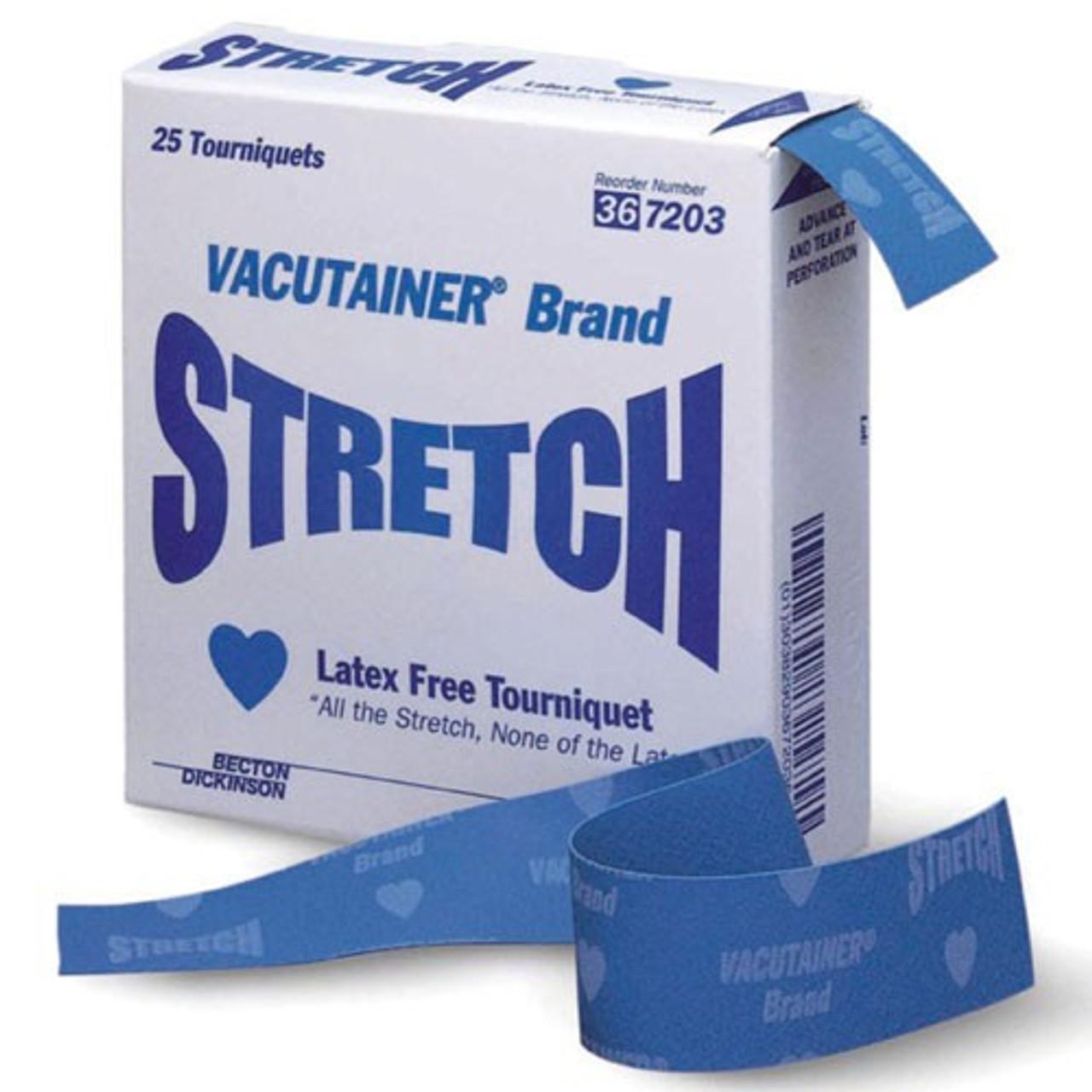 BD Stretch Tourniquet, Latex-Free - 25 per Box