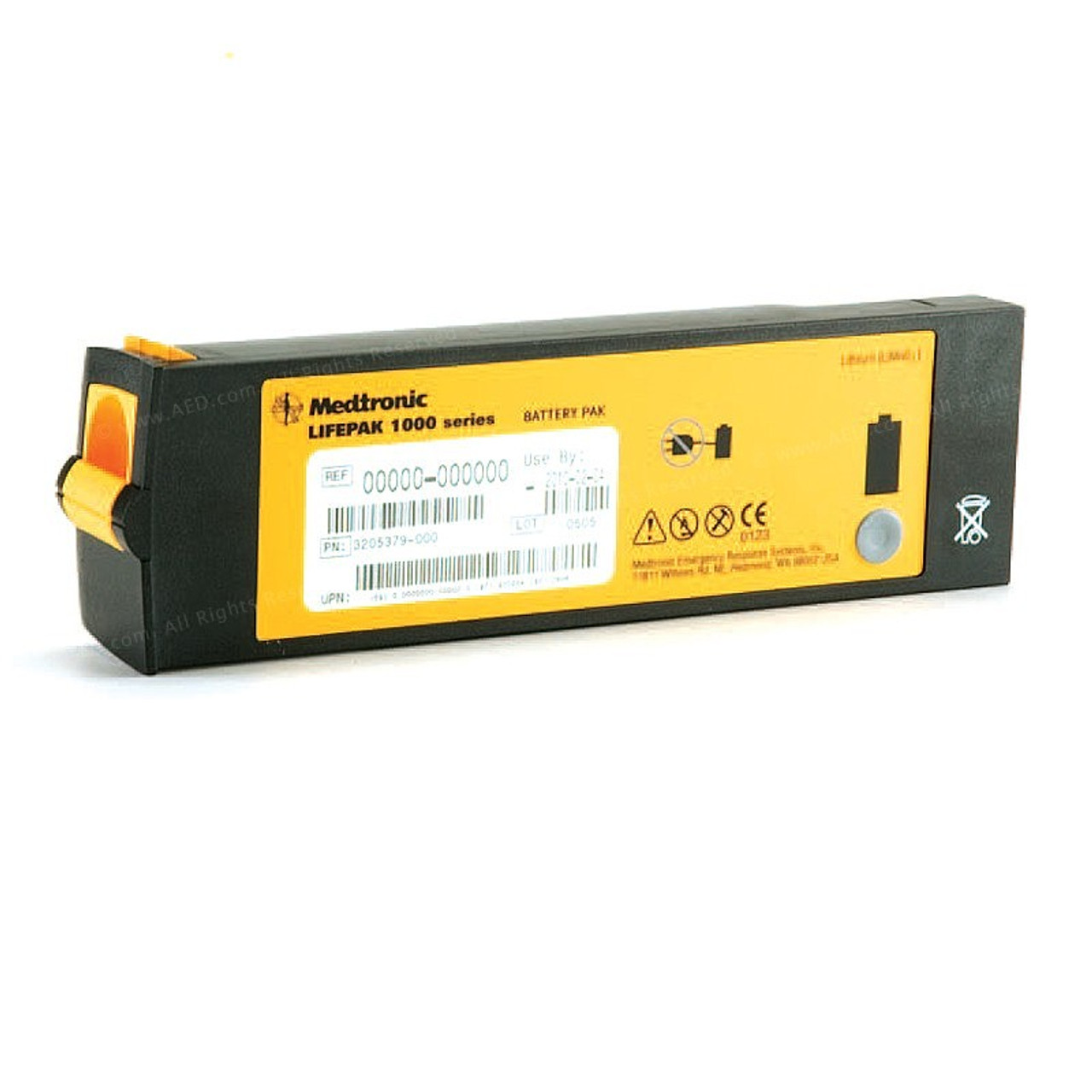 LIFEPAK 1000 AED Replacement Battery