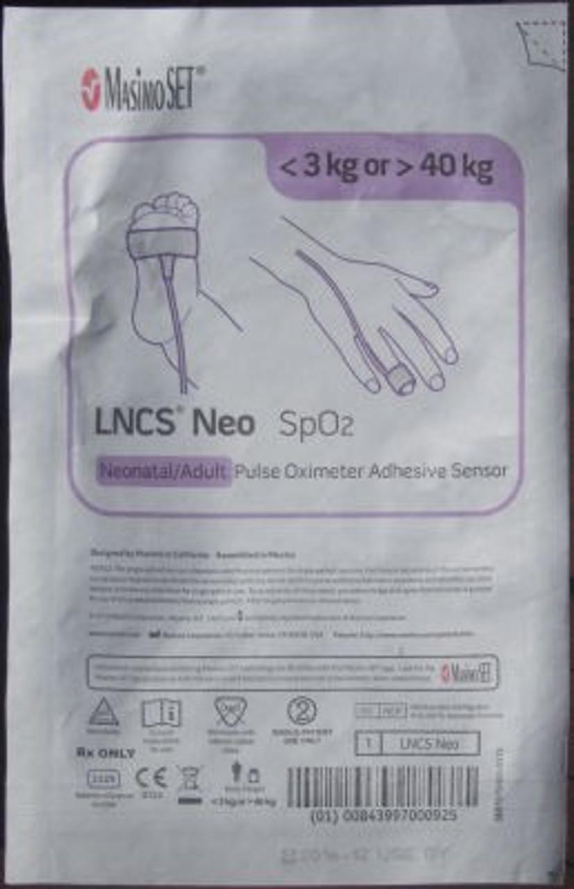 Masimo LNCS Neo-L Disposable Neonate/Adult SpO2 Sensor #2329 - Each