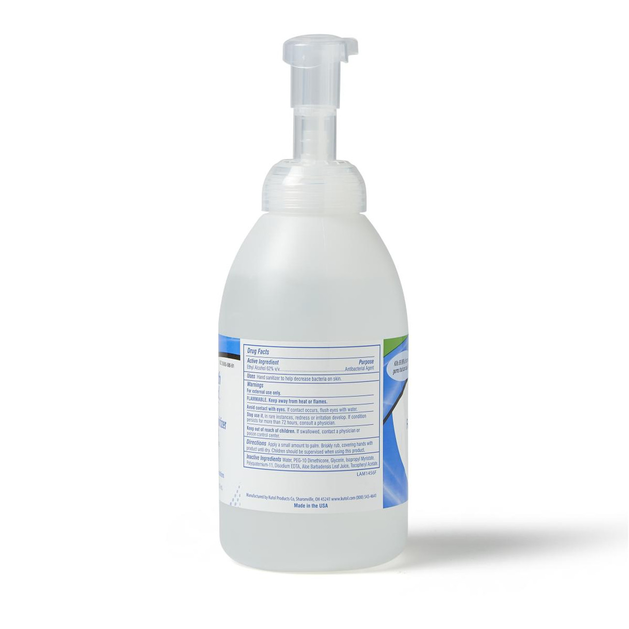 Foaming Hand Sanitizer 18oz Pump Bottle