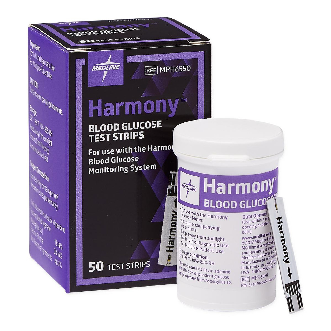 Harmony Test Strips 50 pack