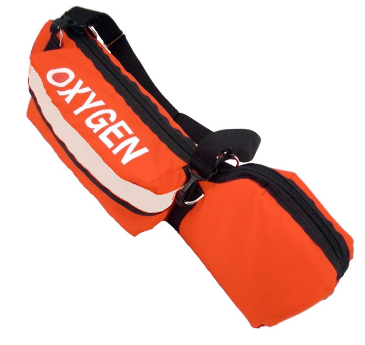 Orange Padded 'D' Cylinder Bag - VINYL