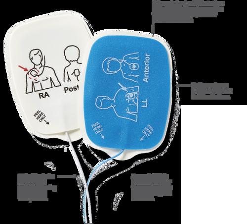 Pediatric Quik Combo Defibrillation Pads