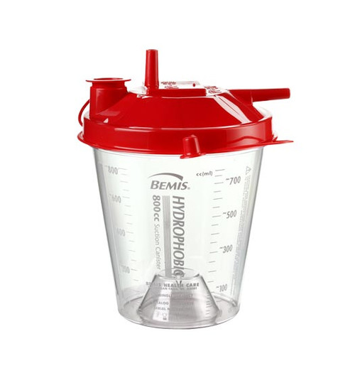 Disposable 800cc Suction Canister by Bemis