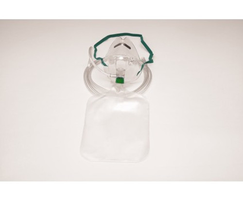Non-Rebreather Mask, Adult  with Universal Thread Grip Tubing