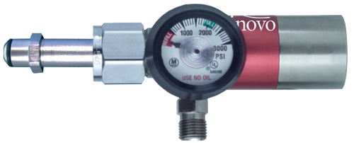 On-Board Oxygen Regulator with 50 Psi Ports