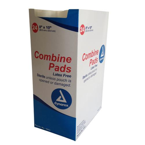Abdominal Combine Dressing, Sterile - 8'' x 10'' -  24 per Box