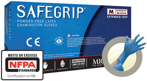 Microflex Safe-Grip LATEX Glove - 50 per Box