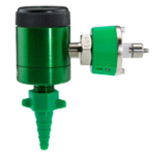 Dial Oxygen Flowmeter with Ohio Adapter 0-25 Lpm