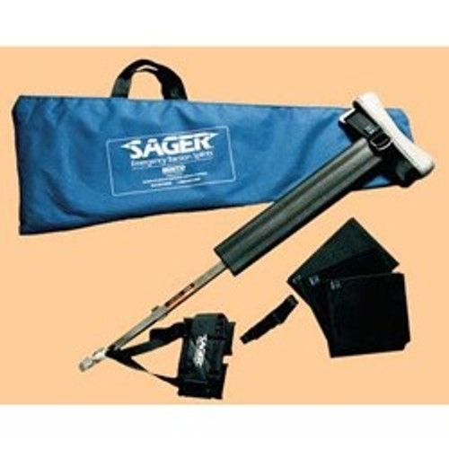 SAGER Model S301 Form III Single Traction Splint