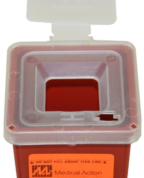 1 Quart Sharps Container #8702  by Medegen