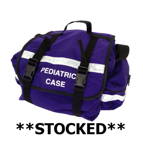 Stocked - Purple Pediatric Equipment Bag