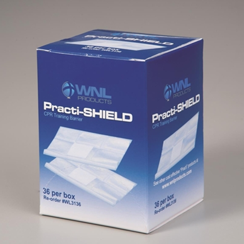 CPR Practi-Shields - 36/Box