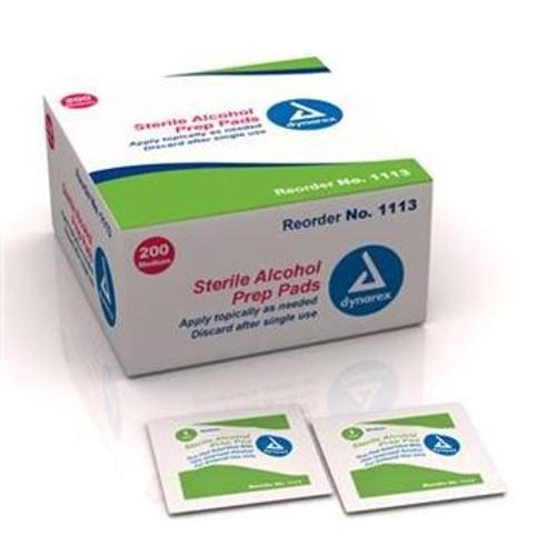 Alcohol Prep Pad Sterile - Medium - 200 per Box