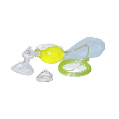 Ped Bag II Resuscitator (BVM) by Laerdal with Added Infant Mask