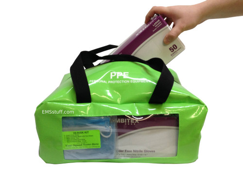 PPE Bag with Glove box