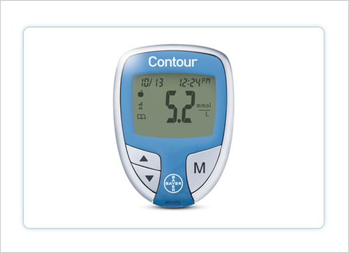 Contour® Glucometer by Bayer