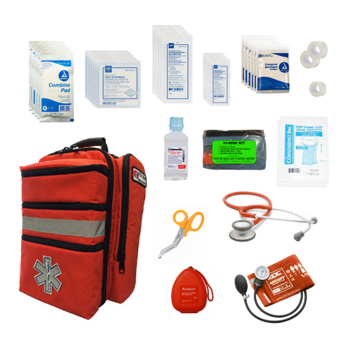 First Responder Backpack - Stocked - Contents